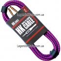 Кабель для гитары HK Premium Instrument Cable 3m. Purple