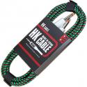 Кабель для гитары HK Premium Instrument Cable 5m. Green