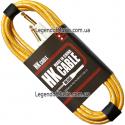 Кабель для гитары HK Premium Instrument Cable 3m. Yellow