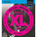 Струны бас D'Addario EXL170-5 5-String Regular Light 45-130