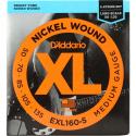 Струны бас D'Addario EXL160-5 5-String Medium 50-135