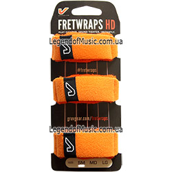 Gruv Gear FW-3PK-ORG-SM FretWraps 3-Pack Orange 250