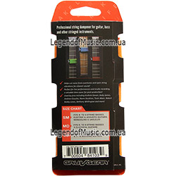 Gruv Gear FW-3PK-ORG-SM FretWraps 3-Pack Orange back 250