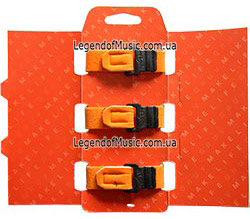 Gruv Gear FW-3PK-ORG-SM FretWraps 3-Pack Orange open back 250
